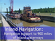 inland navigation factoid