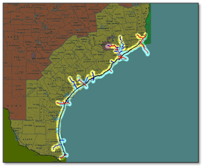 Southwestern Division > About > Texas Ports and Coastal